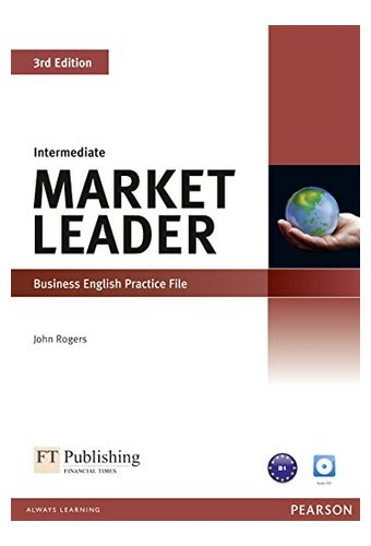 main_4136MOaGJVL Market Leader: 3rd edition Intermediate Practice File CD for pack