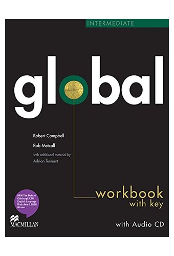 Global: Intermediate Work Book + CD with Key