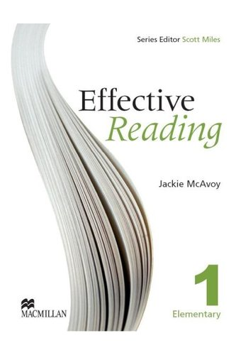 Effective Reading: Student Book Elementary