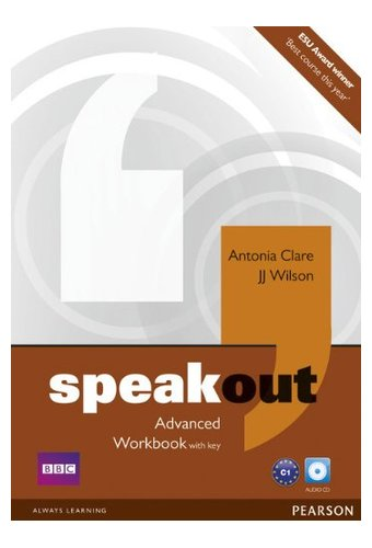 Speakout: Advanced Workbook with Key, Audio CD Pack