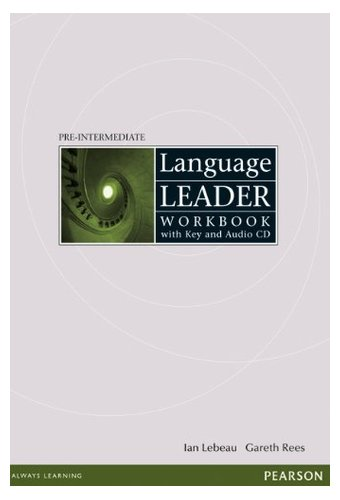 main_41cB1JrkCWL Language Leader: Pre-Intermediate Workbook with key, audio cd pack