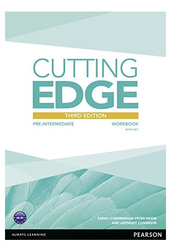 Cutting Edge: 3rd Edition Pre-Intermediate Workbook with Key