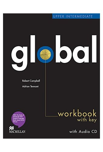 Global: Upper Intermediate Work Book + CD with Key