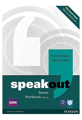 Speakout: Starter Workbook with Key, Audio CD Pack