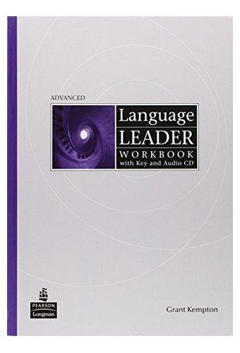 main_41lVJaKKjRL Language Leader: Advanced Workbook With Key, Audio CD Pack