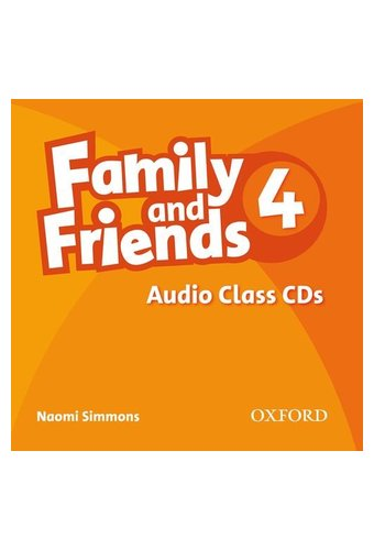 Family and Friends: 4 Class Audio CD