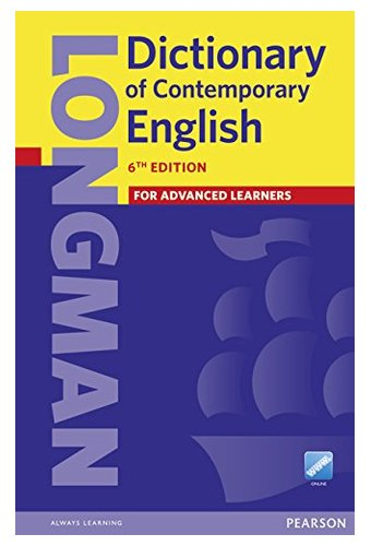 Longman Dictionary of Contemporary English 6 Cased, Online