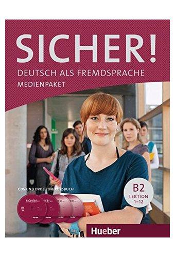 Sicher aktuell Medienpaket  - 2 Audio-CDs Und 1 DVD Zum Kursbuch