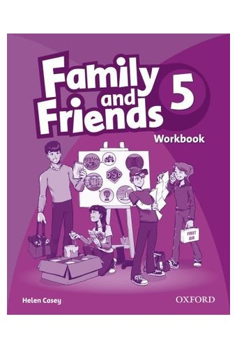 Family and Friends: 5 Workbook