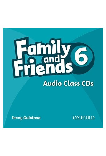 Family and Friends: 6 Audio Class CD