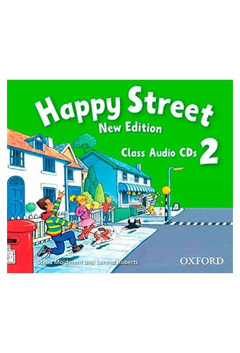 Happy Street: 2 New Edition: Class Audio CDs
