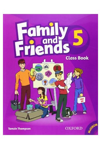 Family and Friends: 5 Class Book and MultiROM Pack
