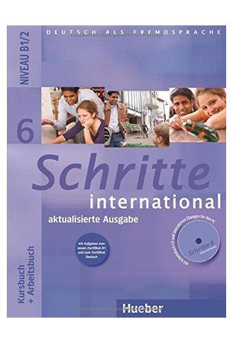 Schritte International: Kursbuch Und Arbeitsbuch 6 MIT CD Zum Arbeitsbuch