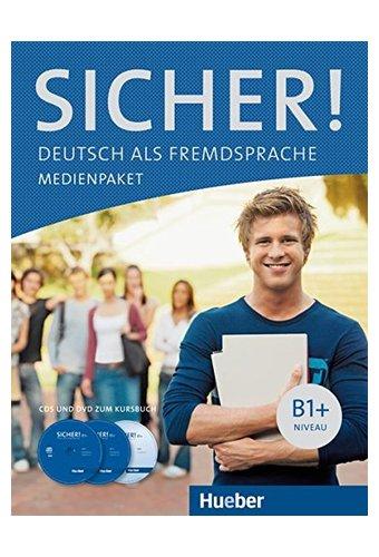 Sicher: Medienpaket B1+ - Audio-CD und DVD zum Kursbuch