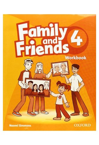 Family and Friends: 4 Workbook