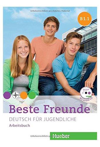 Beste Freunde: Arbeitsbuch B1/1 Mit Audio-CD