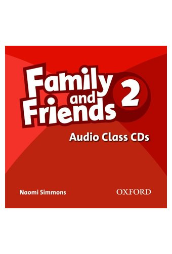 Family and Friends: 2 Class Audio CDs