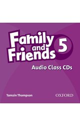 Family and Friends: 5 Class Audio CD