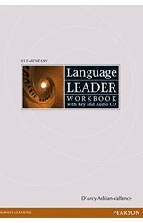 Language Leader: Elementary Workbook with key, Audio CD pack