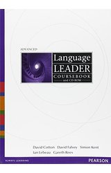 Language Leader: Advanced Coursebook, CD Rom Pack