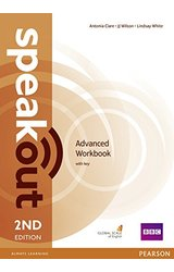 Speakout: Advanced 2nd Edition Workbook with Key
