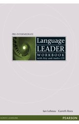 Language Leader: Pre-Intermediate Workbook with key, audio cd pack