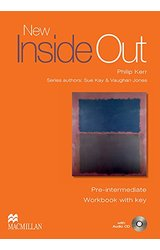 New Inside Out: Pre-intermediate: Workbook + Key Pack