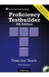 Proficiency Testbuilder Student Book +key Pack Fourth Edition (Testbuilder Series)