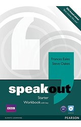 Speakout: Starter Workbook with Key, Audio CD Pack