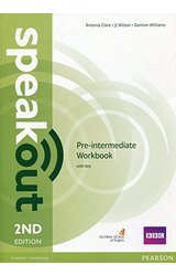Speakout: Pre-Intermediate 2nd Edition Workbook with Key