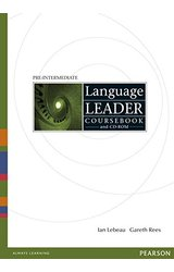 thumb_41i09q8hxWL Language Leader: Pre-Intermediate Workbook with key, audio cd pack