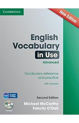 English Vocabulary in Use: Advanced with CD-ROM: Vocabulary Reference and Practice
