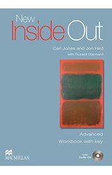 New Inside Out: Advanced Work Book + Key with Audio CD