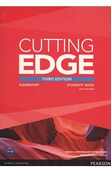 thumb_41lyGuX-ZEL Cutting Edge: 3rd Edition Upper-Intermediate Students' Book, DVD Pack