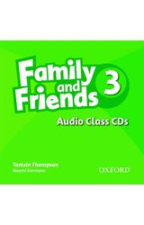 Family and Friends: 3 Class Audio CDs