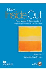New Inside Out: Workbook Pack with Key: Beginner