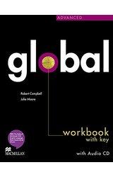Global: Advanced Workbook & CD with Key