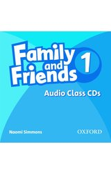 Family and Friends: 1 Class Audio CDs