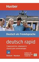 Deutsch Rapid: 2 Auflage - Audiokurs mit Arbeitsbuch und 2 Audio CDs