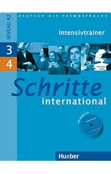 Schritte International: Intensivtrainer MIT Audio-CD 3 & 4