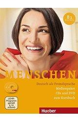Menschen: Audio-CDs (3) & DVD-Rom zum Kursbuch B1