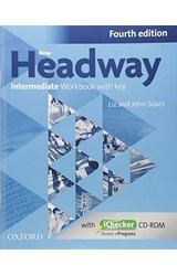 New Headway: Intermediate B1: Workbook + iChecker with Key