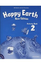 Happy Earth: 2 New Edition: Activity Book and MultiROM Pack