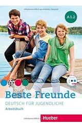 thumb_51DaQ8fBZnL Beste Freunde: Arbeitsbuch B1/2 Mit Audio-CD