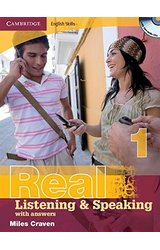 Real Listening and Speaking: 1 with Answers and Audio CD