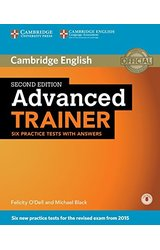Advanced Trainer Six Practice Tests with Answers with Audio