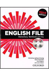 English File 3rd Edition Elementary Workbook with Key