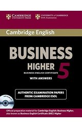 Cambridge English Business 5 Higher Self-study Pack