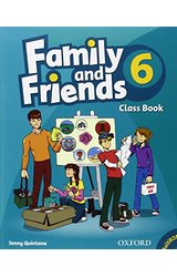 Family and Friends: 6 Class Book and MultiROM Pack