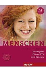 Menschen: Audio-CDs (3) & DVD zum Kursbuch A1